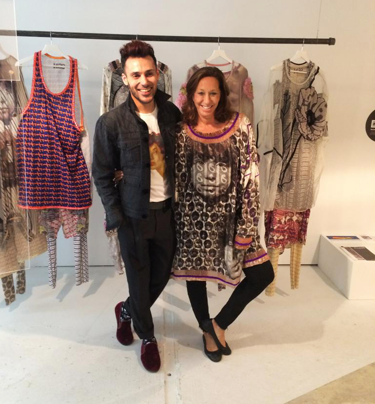Ammar & Donna Karan